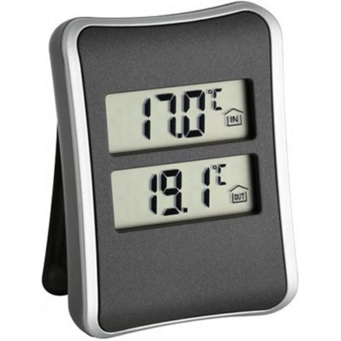 Купить Товары для дачи и сада, TFA Цифровой термометр 30.1044 с внешним проводным датчиком