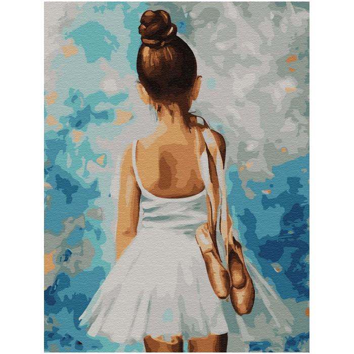 Купить Картины по номерам, Molly Картина по номерам с цветной схемой на холсте Путь к успеху 40х30 см