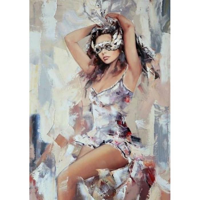 Картины по номерам Molly Картина по номерам с цветной схемой на холсте Перед карнавалом 40х30 см картины по номерам molly картина по номерам с цветной схемой на холсте настроение 40х30 см