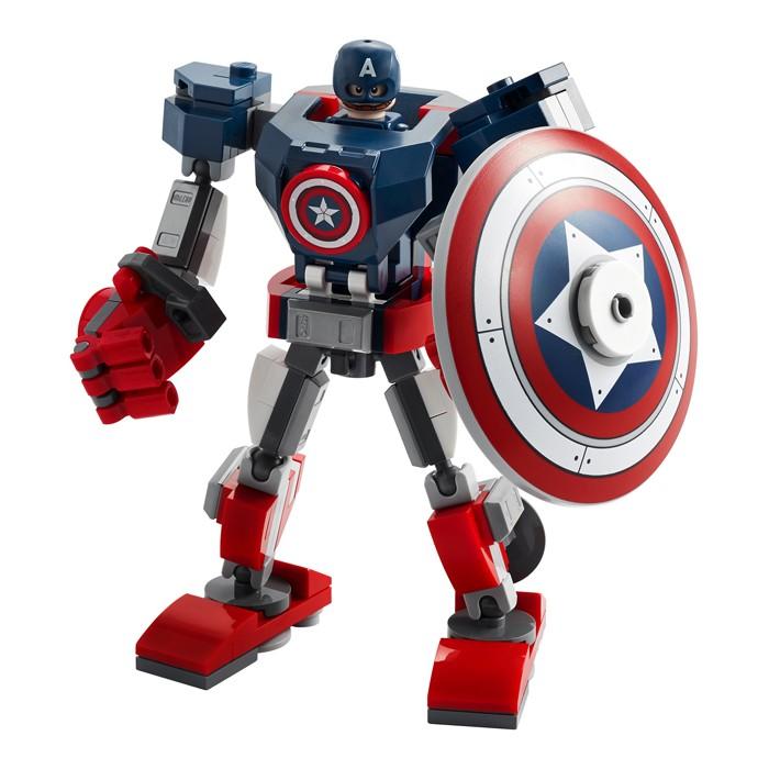 Купить Конструктор Lego Super Heroes Капитан Америка: Робот