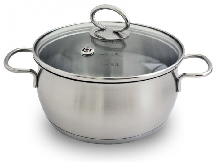 Фото - Посуда и инвентарь TimA Кастрюля с крышкой 4 л кастрюля 7 л tima fashion fm 2415