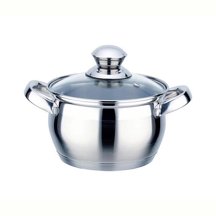 Фото - Посуда и инвентарь TimA Кастрюля с крышкой Практичная 2.5 л кастрюля 7 л tima fashion fm 2415