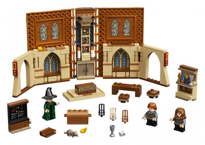 Конструктор Lego Harry Potter Учёба в Хогвартсе: Урок трансфигурации