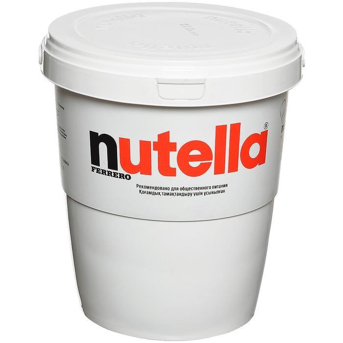 Nutella Паста ореховая с добавлением какао 3 кг