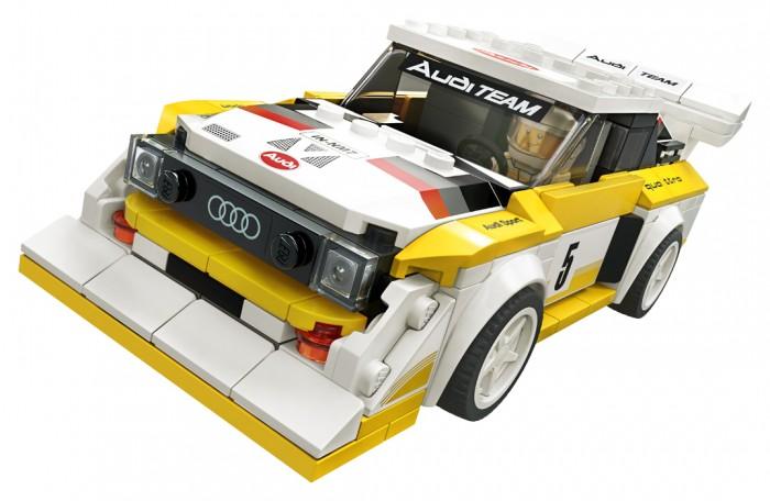 Конструктор Lego Speed Champions 1985 Audi Sport quattro S1