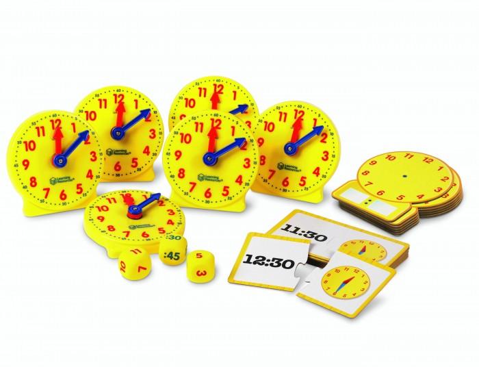 Картинка для Развивающая игрушка Learning Resources Учимся определять время Большой набор