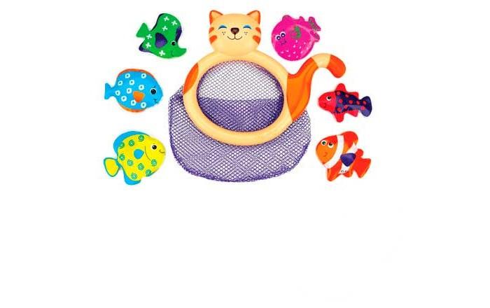 Игрушки для ванны KS Kids Игрушка для купания Кошка-сачок Мими