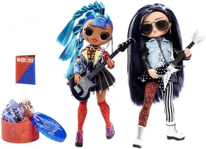 Купить Куклы и одежда для кукол, L.O.L. Набор коллекционных кукол Omg Музыкальный дуэт 25 см 2 шт.