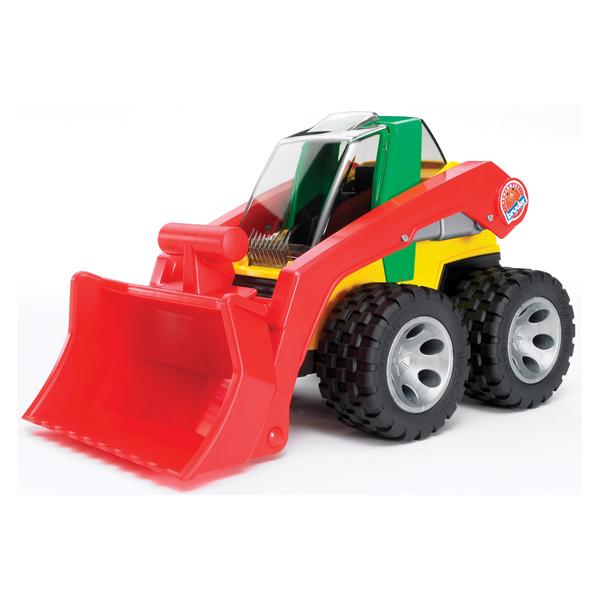 Bruder Погрузчик RoadmaxПогрузчик RoadmaxКрасочная машинка для мальчиков станет любимой игрушкой. Все детали Погрузчика сделаны из самых высококачественных материалов, для комфортной и продолжительной игры.<br>