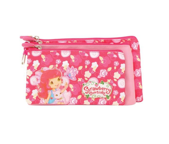 Пеналы Action Пенал-косметичка Strawberry Shortcake 1 pi3 case raspberry pie 3 generation shell white strawberry