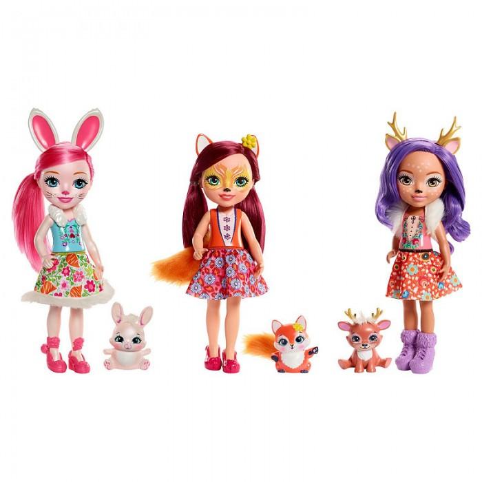 Купить Куклы и одежда для кукол, Enchantimals Кукла большая
