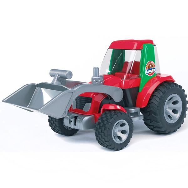 Машины Bruder Трактор-погрузчик Roadmax bruder трактор погрузчик roadmax