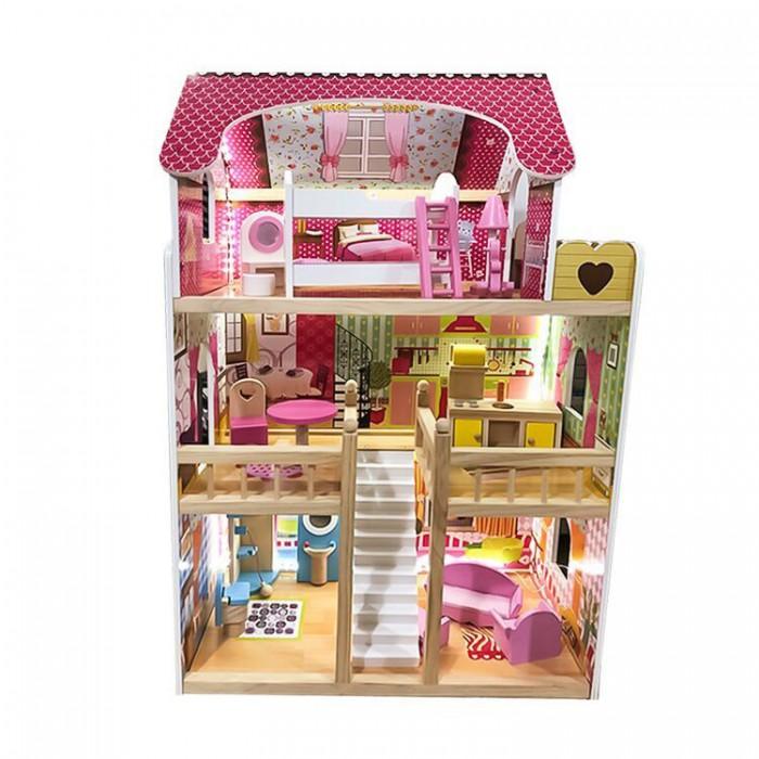 Фото - Кукольные домики и мебель Lanaland Кукольный домик Альмерия кукольные домики и мебель наша игрушка игровой набор кукольный домик 12 предметов