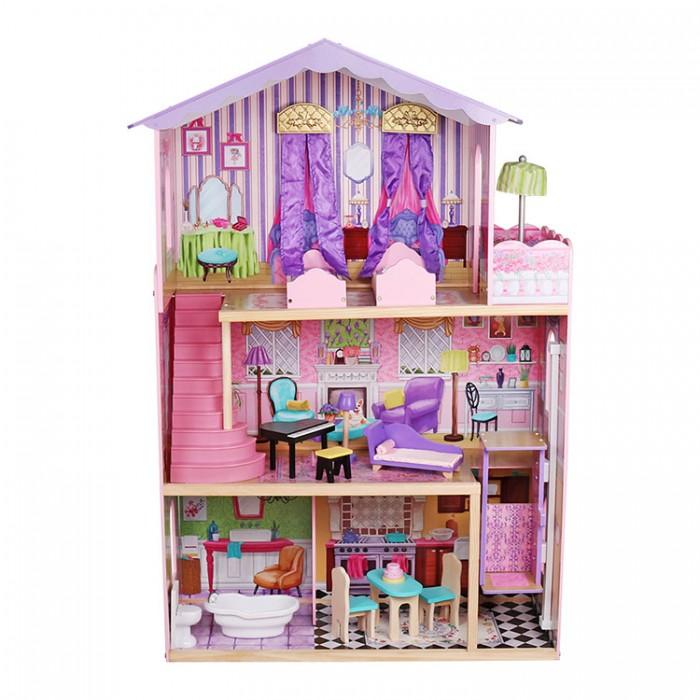 Фото - Кукольные домики и мебель Lanaland Кукольный домик Лючия кукольные домики и мебель наша игрушка игровой набор кукольный домик 12 предметов