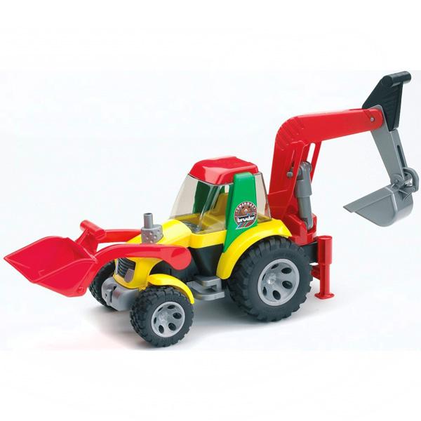 Машины Bruder Экскаватор-погрузчик Roadmax bruder трактор погрузчик roadmax