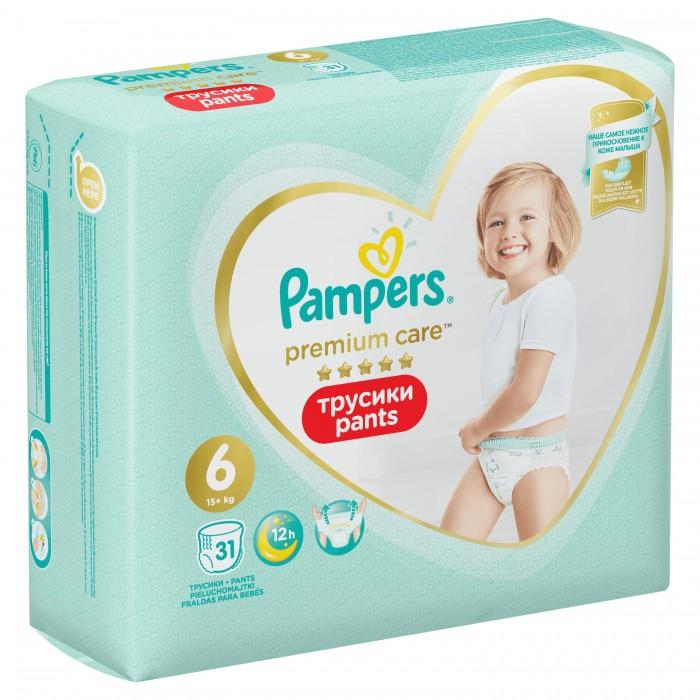 Pampers Подгузники-трусики Premium Care Extra Large р.6 (15+ кг) 31 шт.
