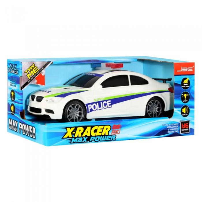 Купить Машины, JBE Машинка инерционная Полиция со светом и звуком