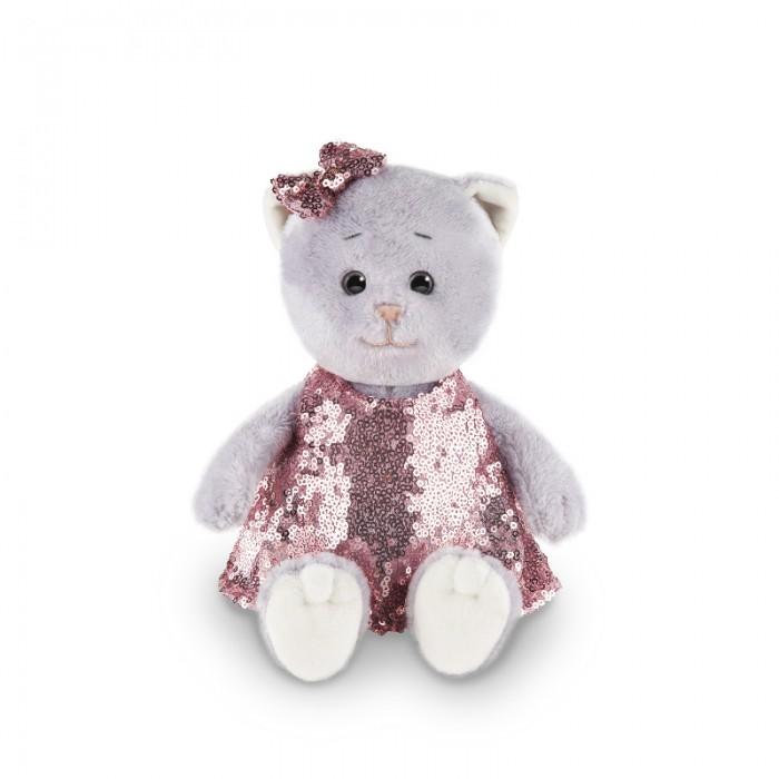 Мягкая игрушка Колбаскин&Мышель Мышель в нарядном платье в коробке 20 см