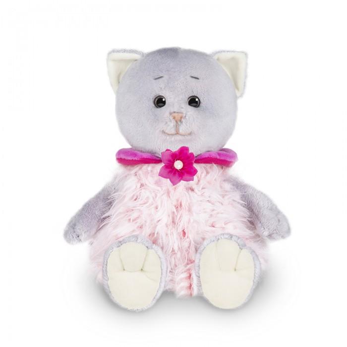 Мягкая игрушка Колбаскин&Мышель Мышель в розовой жилетке в коробке 25 см