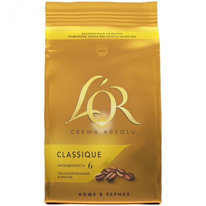L'or Кофе в зернах Crema Absolu Classique 1 кг