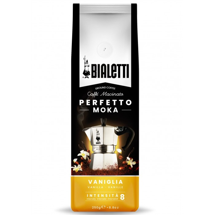 Фото - Кофе Bialetti Кофе молотый Perfetto moka Vaniglia 250 г кофе молотый caffe boasi latina moka 100% arabica 250 г