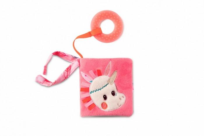 Развивающие игрушки Lilliputiens Книжка-игрушка мини Единорожка Луиза