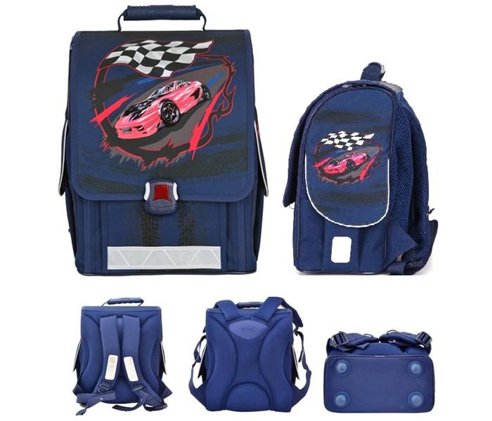 Купить Школьные рюкзаки, Action Ранец школьный by Tiger Спортивная машина 21009/A/1B