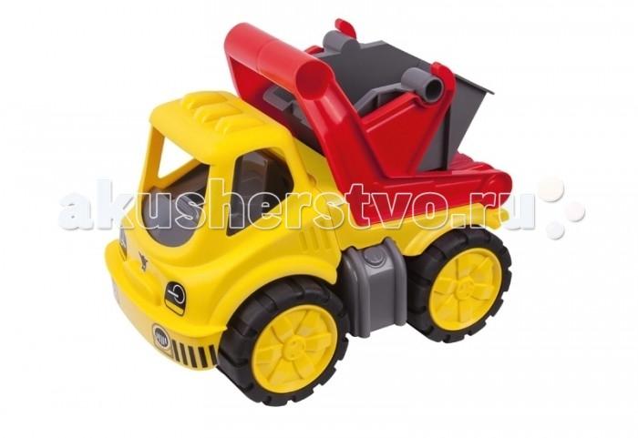 BIG Машинка контейнеровоз Power Worker 31 смМашинка контейнеровоз Power Worker 31 смМашинка контейнеровоз BIG Power Worker 31 см  Грузовик желтого цвета Big имеет специальный красный кузов, благодаря которому можно легко поднимать и опускать контейнер. Ребенок может загружать в него игрушки и перевозить на нужное место.  Колеса разработаны таким образом, что двигаются бесшумно и не царапают пол. В набор входит контейнер.<br>
