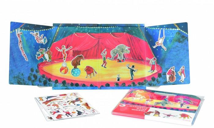 Игры для малышей Egmont Магнитная игра Цирк эгмонт магнитная игра egmont toys в гостях у мишки