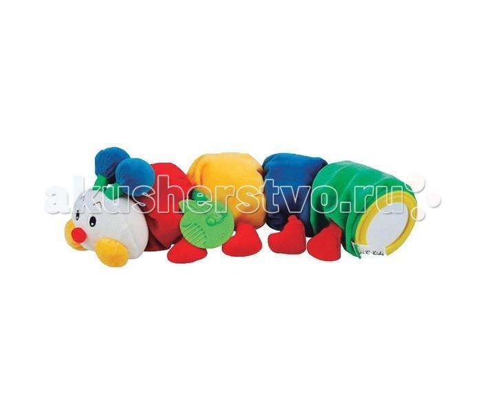 Развивающие игрушки KS Kids Гусеничка с прорезывателем KA494