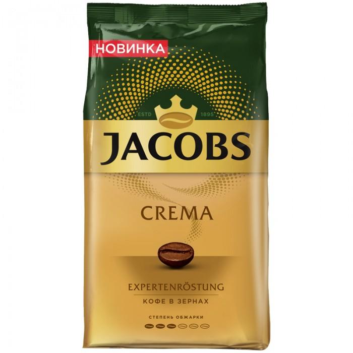 Jacobs Кофе в зернах Crema 1 кг