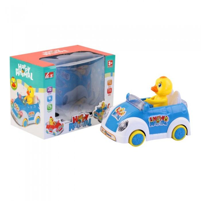 Купить Электронные игрушки, Джамбо Развивающая игрушка Машинка с утенком