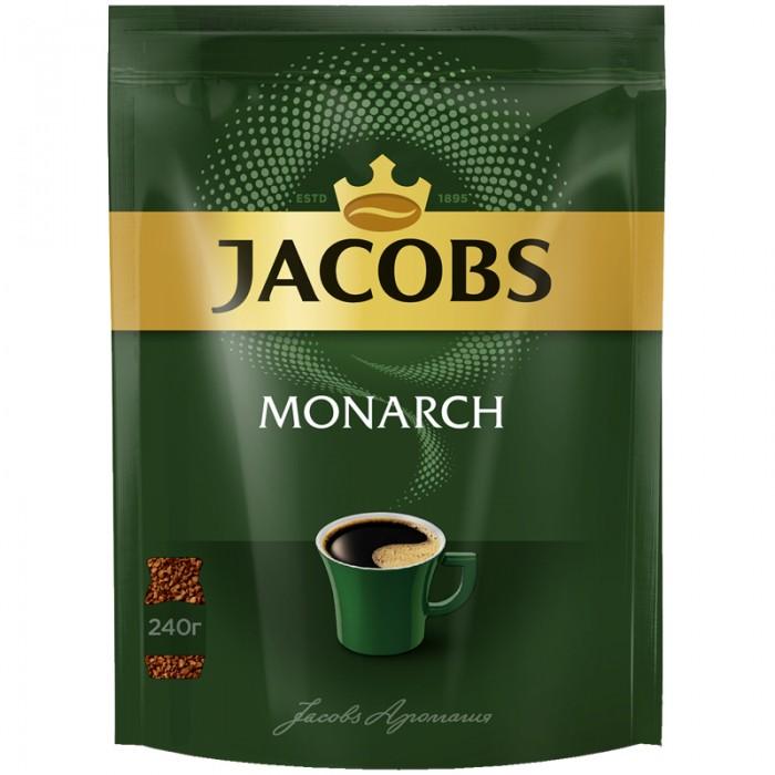 Jacobs Кофе растворимый Monarch сублимированный 240 г