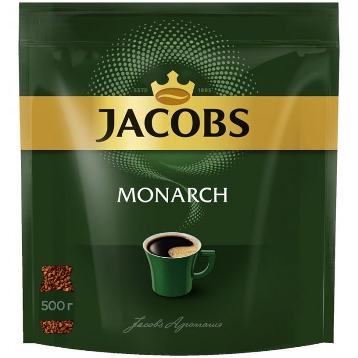 Jacobs Кофе растворимый Monarch сублимированный 500 г