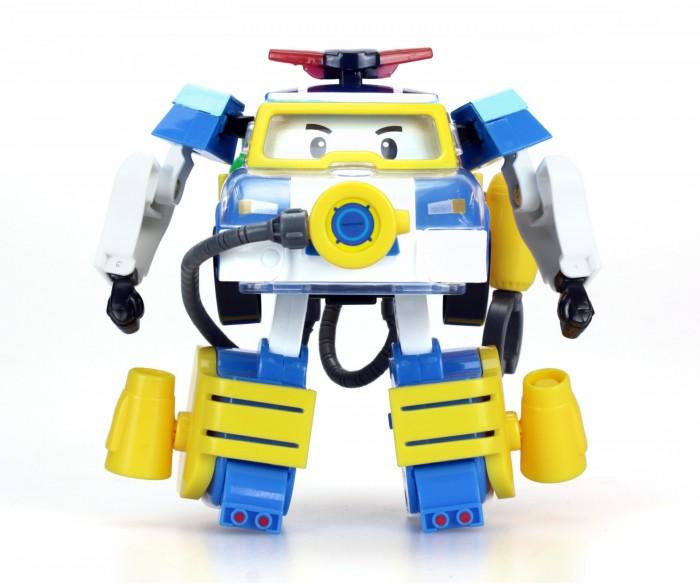 Роботы Робокар Поли (Robocar Poli) Трансформер Поли 10 см + костюм водолаза robocar игрушка металл машина марк поли 6 см robocar