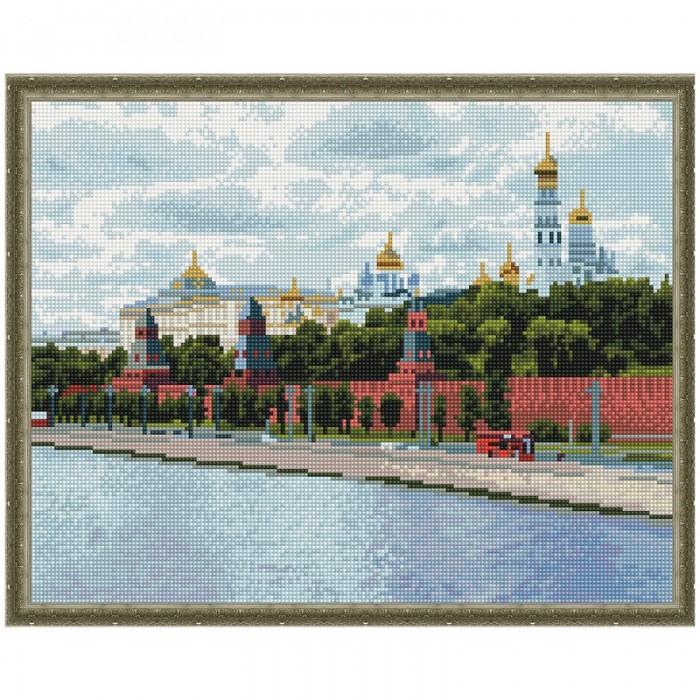 Картины своими руками Molly Картина мозаика Москва Кремль 40х50 см