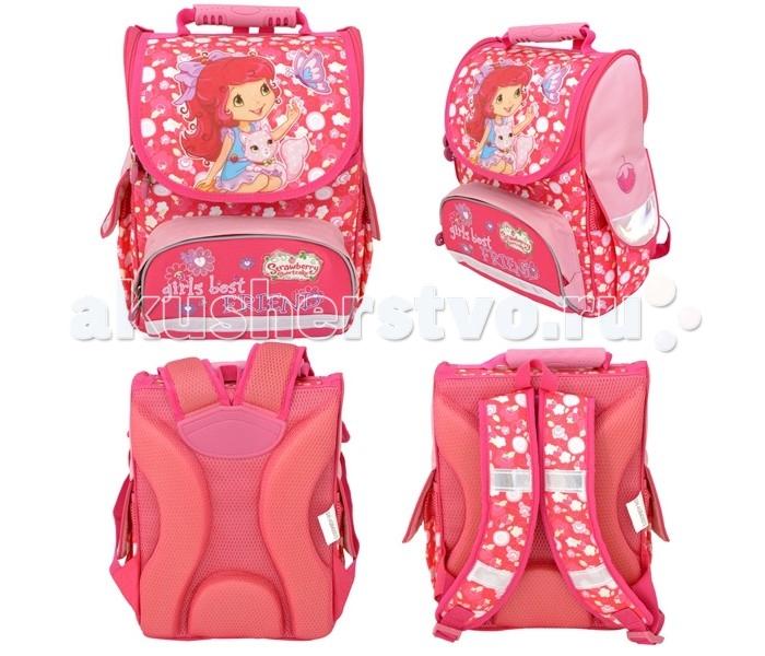 Развитие и школа , Школьные рюкзаки Action Ранец школьный Strawberry Shortcake SW-ASB4000/3 арт: 111244 -  Школьные рюкзаки