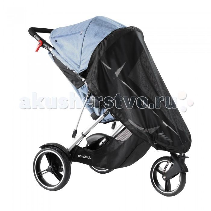 Детские коляски , Москитные сетки Phil&Teds на основное сидение коляски Dash арт: 111271 -  Москитные сетки