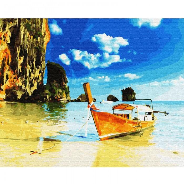 Картины по номерам Molly Картина по номерам Тайланд О.Пхи-Пхи 40х50 см