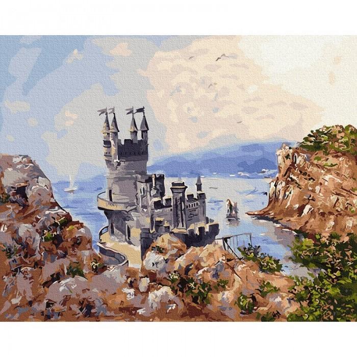 Картины по номерам Molly Картина по номерам Ласточкино гнездо 40х50 см