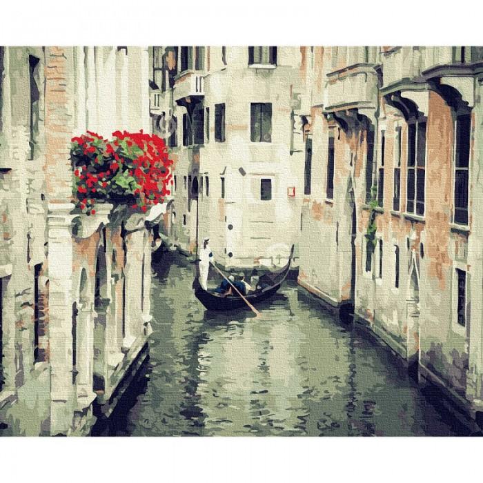 Картины по номерам Molly Картина по номерам Улочки Венеции 40х50 см