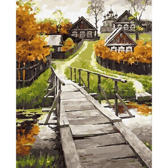 Картины по номерам Molly Картина по номерам Сельский пейзаж 40х50 см