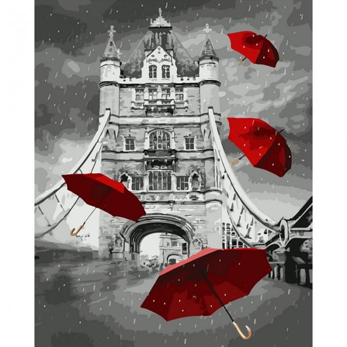 Картины по номерам Molly Картина по номерам Дождь в Лондоне 40х50 см