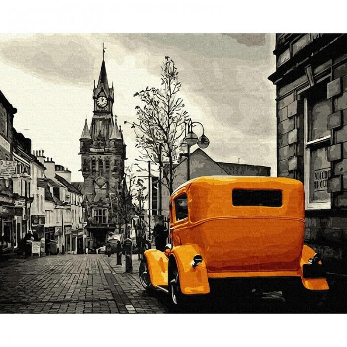 Фото - Картины по номерам Molly Картина по номерам Лондонское такси 40х50 см картина по номерам molly 40х50 см отражение