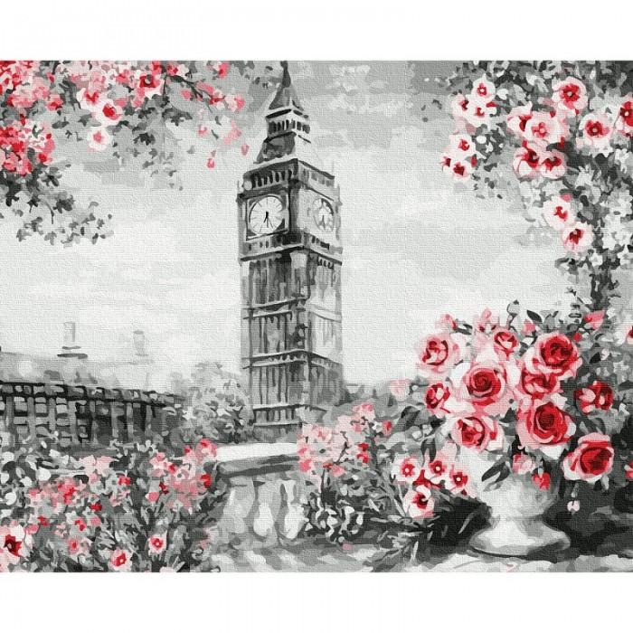 Картины по номерам Molly Картина по номерам Английский пейзаж 40х50 см