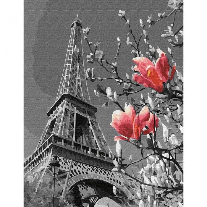 Картины по номерам Molly Картина по номерам Весна в Париже 30х40 см