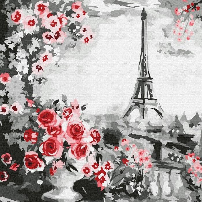 Купить Картины по номерам, Molly Картина по номерам Париж 30х30 см
