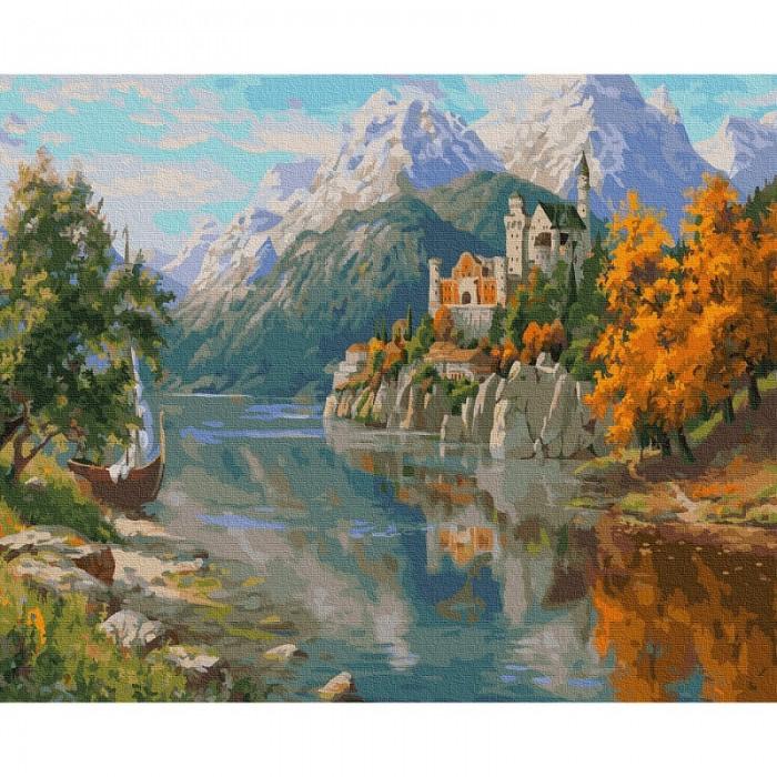 Фото - Картины по номерам Molly Картина по номерам Прищепа. Замок в горах 40х50 см картина по номерам molly 40х50 см отражение