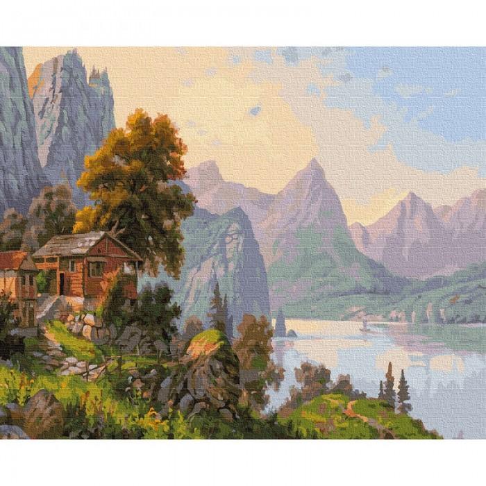 Картины по номерам Molly Картина по номерам Прищепа. Уютный уголок 40х50 см