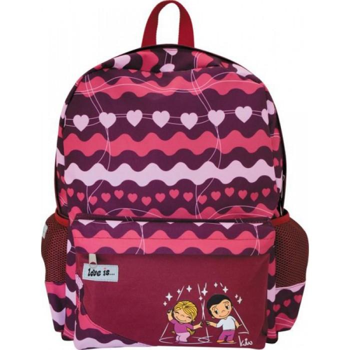 Развитие и школа , Школьные рюкзаки Action Рюкзак Love is арт: 111385 -  Школьные рюкзаки
